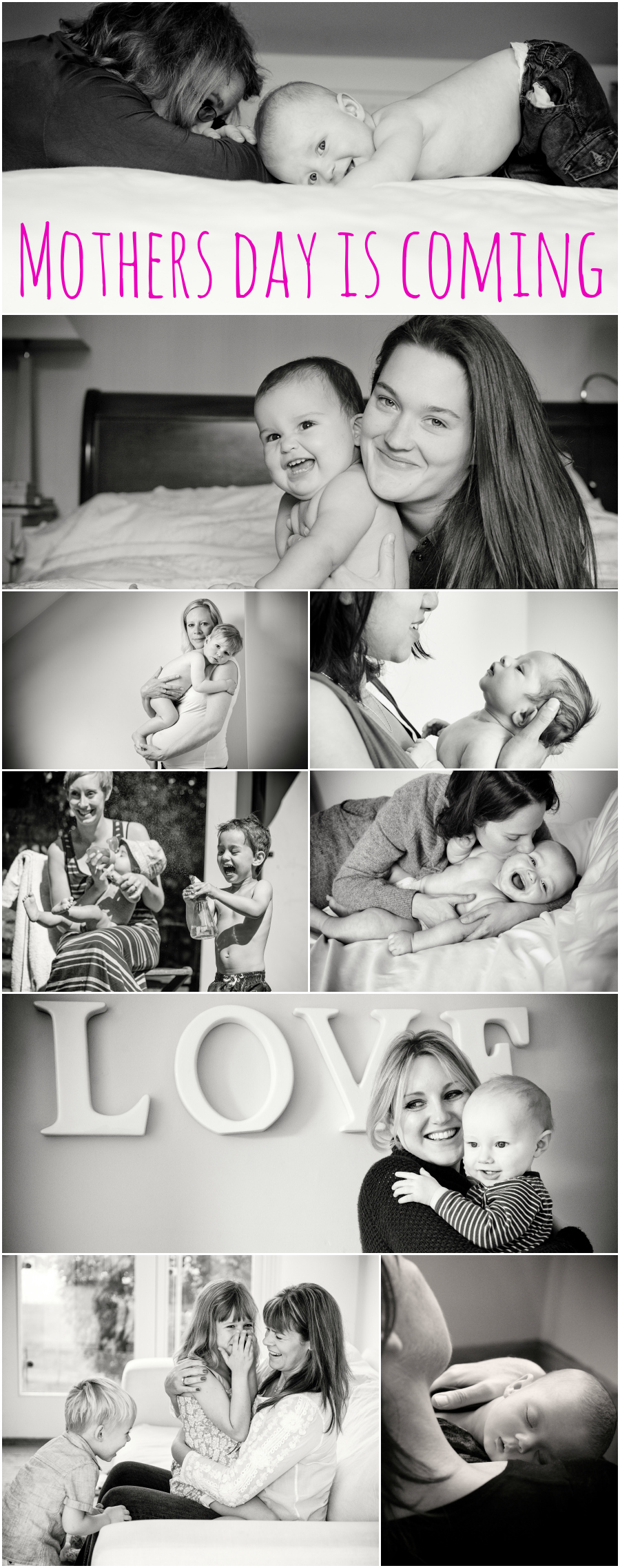 mothers day gift vouchers photography